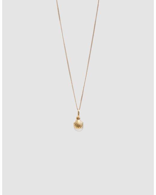 Loren Stewart - Metallic Pearl Shell Charm Necklace - Lyst