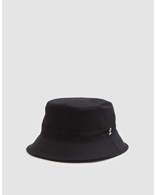 Larose Paris - Water Repellent Bucket Hat In Black for Men - Lyst