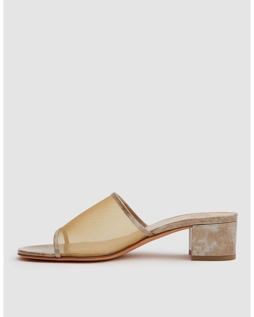Maryam Nassir Zadeh Yellow Straw Sophie Slides 2sG0r