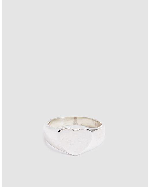 Loren Stewart - Metallic Sterling Silver Lover Signet Ring - Lyst