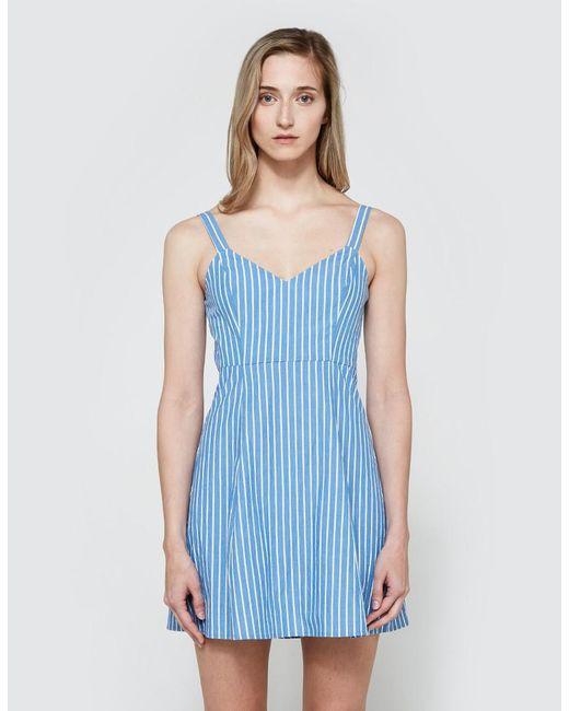 Farrow | Blue Danny Dress | Lyst