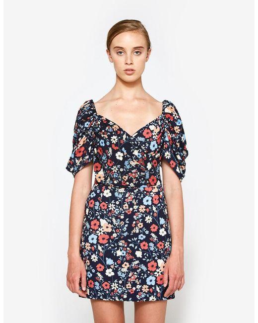 Farrow | Blue Versailles Dress | Lyst