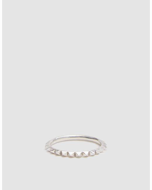 Saskia Diez - Metallic Pave Silver Ring - Lyst