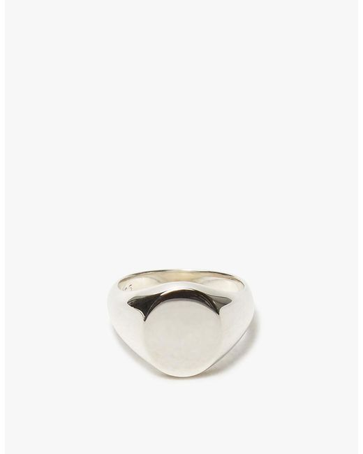 J. Hannah | Metallic Pinky Signet Ring | Lyst