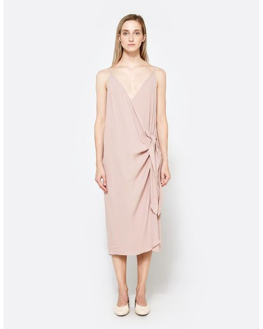 Farrow | Pink Alexandria Dress | Lyst