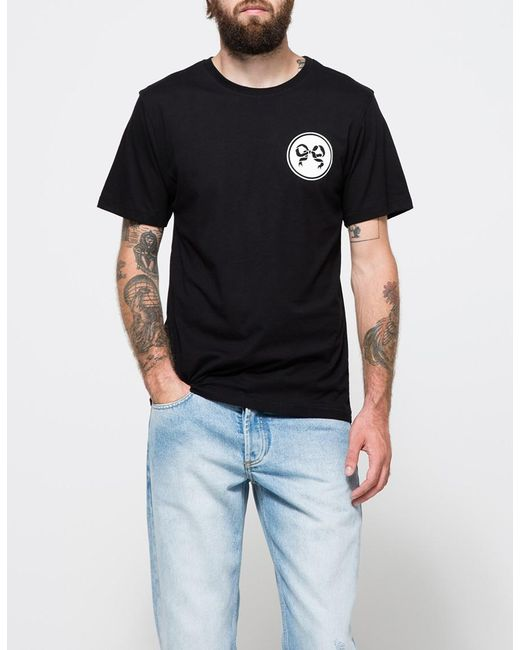 Soulland - Ribbon T-shirt In Black for Men - Lyst
