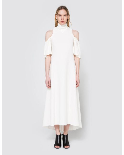 Ellery | White Deity Dress In Ivory | Lyst