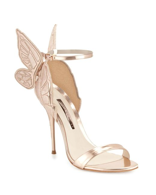 Sophia Webster - Natural Chiara Butterfly Wing Ankle-wrap Sandals - Lyst