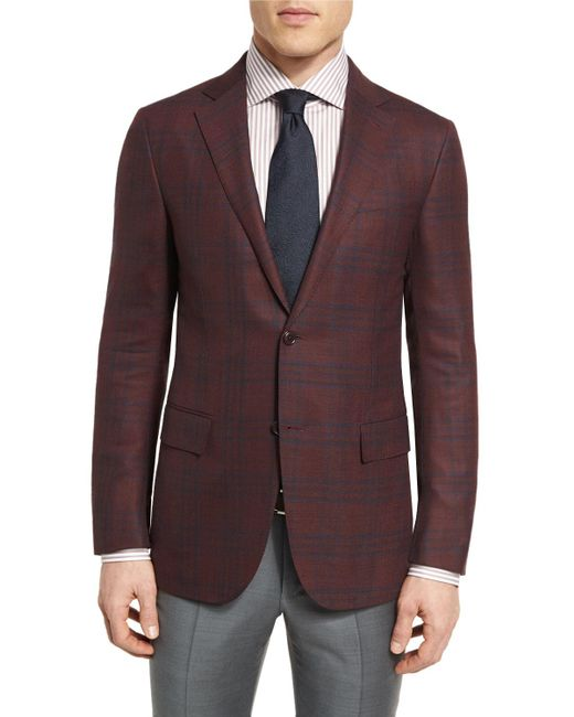 Ermenegildo Zegna | Multicolor Cool Effect Plaid Two-button Sport Coat for Men | Lyst