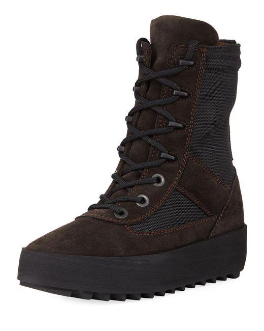 Yeezy Desert Boot In Black Save 29 Lyst