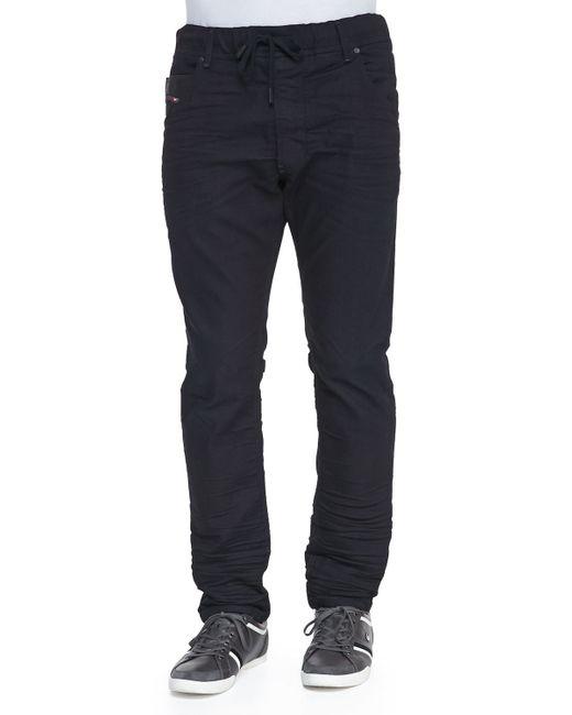 DIESEL | Blue Krooley-ne Tapered Jogg Jeans for Men | Lyst