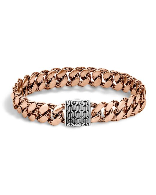 John Hardy | Metallic Men's Large Gourmette Chain Bracelet for Men | Lyst