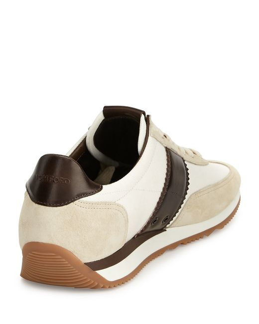 Tom ford Orford Colorblock Trainer Sneaker in Brown for ...
