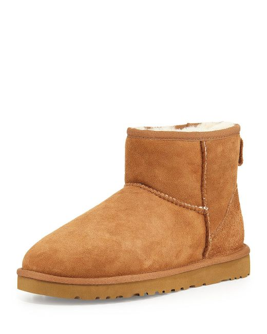 Ugg | Brown Bailey Button Suede Boots | Lyst