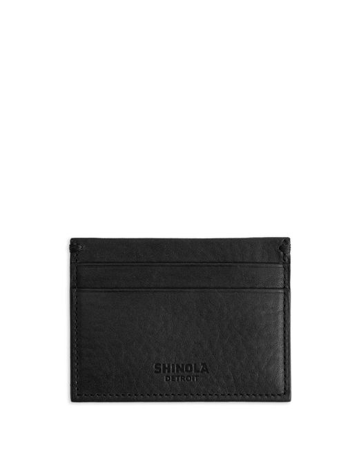 Shinola | Black Five-pocket Leather Card Case | Lyst