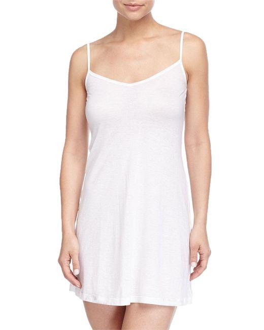 Hanro | White Ultralight Bodydress | Lyst