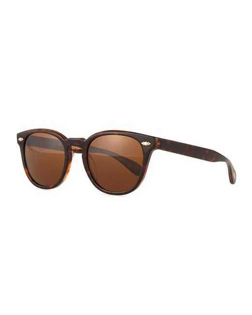 Oliver Peoples | Brown Sheldrake Plus Square Plastic Sunglasses | Lyst