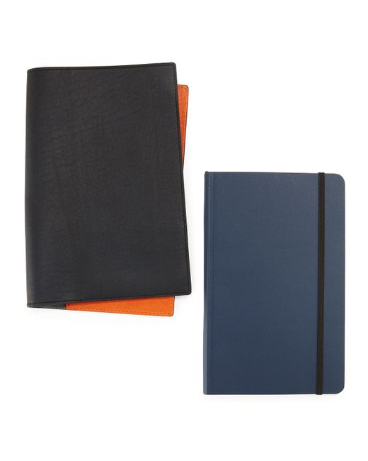 Shinola | Blue Journal Set With Leather Cover | Lyst