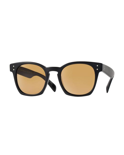 Oliver Peoples | Black Byredo Photochromic Square Sunglasses | Lyst
