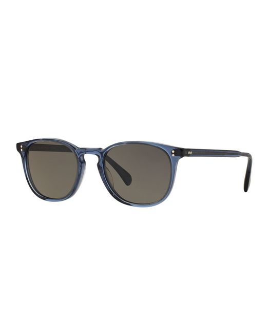 3a64d6189a Oliver peoples Finley Esq. 51 Acetate Sunglasses in Gray for Men