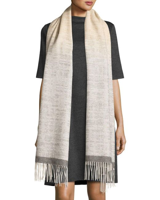 Eileen Fisher | Multicolor Fisher Project Alpaca Ombre Serape | Lyst