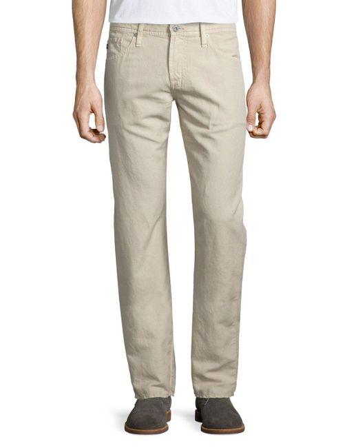 AG Jeans   Multicolor Graduate Sulfur Linen/cotton Jeans for Men   Lyst