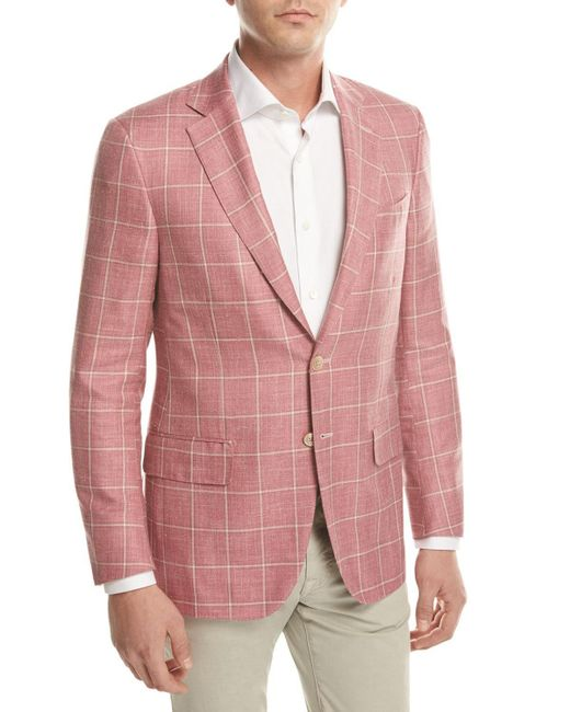 Free shipping and returns on Men's Linen Blazers & Sport Coats at shopnew-5uel8qry.cf Skip navigation. Earn $20 Notes with Nordstrom Rewards. See details. Black Grey White Beige Brown Metallic Purple Blue Green Yellow Orange Pink Red. Show Price. $50 – $ $ Nordstrom Men's Shop Trim Fit Windowpane Linen Sport Coat. $ New.