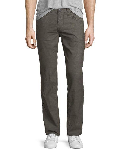 True Religion | Green Rocco Corduroy Jeans for Men | Lyst