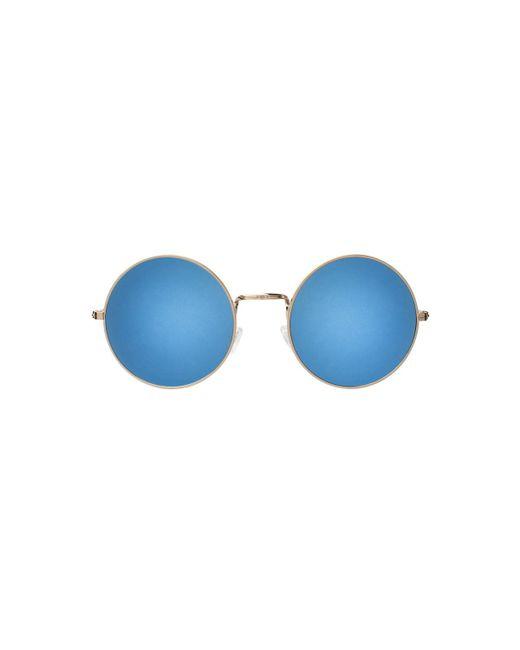 Illesteva | Blue Porto Cervo Round Sunglasses, 50mm | Lyst