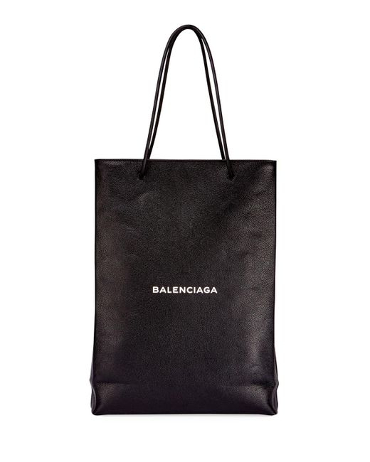 Balenciaga | Black Men's Medium North-south Leather Tote Bag for Men | Lyst