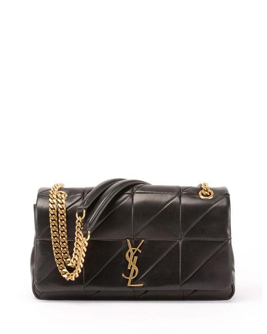 Saint Laurent - Black Jamie Medium Diamond-quilted Chain Shoulder Bag - Bronze Hardware - Lyst