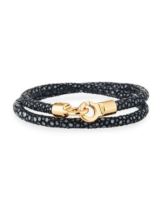 Brace Humanity - Multicolor Men's Stingray Wrap Bracelet for Men - Lyst