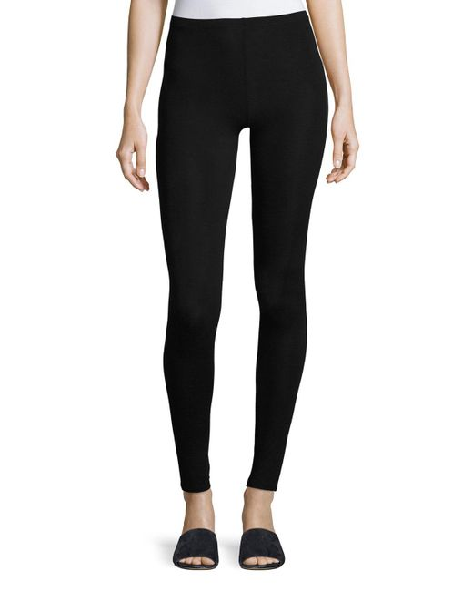 Neiman Marcus - Black Soft Touch Leggings - Lyst