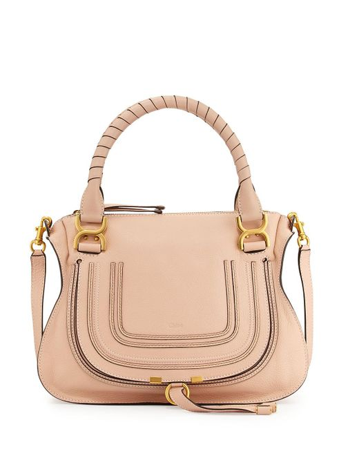 Chloé - Brown Marcie Medium Satchel Bag - Lyst