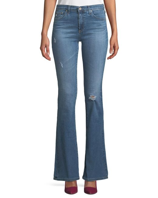 AG Jeans - Blue Angel 13 Years Mid-rise Boot-cut Jeans - Lyst