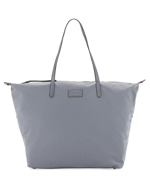 Rebecca Minkoff - Gray Washed Nylon Tote Bag - Lyst