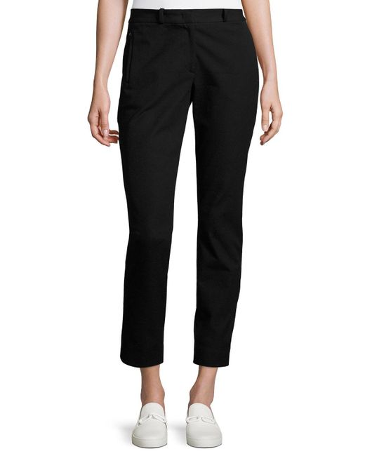 Joseph - Black Eliston Gabardine Trousers - Lyst