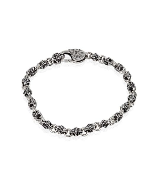 Konstantino - Metallic Men's Sterling Silver Mini-link Bracelet for Men - Lyst