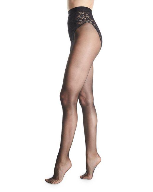Donna Karan - Natural High-waist Control-top Tights - Lyst