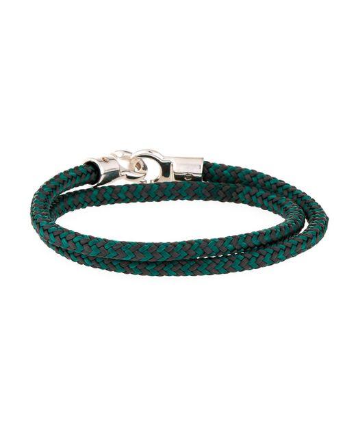 Brace Humanity - Men's Double Tour Rope Wrap Bracelet Gray/green for Men - Lyst