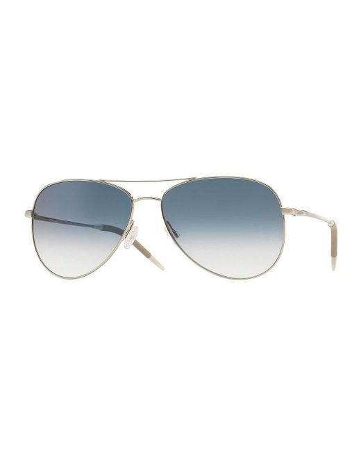 Oliver Peoples | Metallic Kannon 59 Photochromic Sunglasses | Lyst
