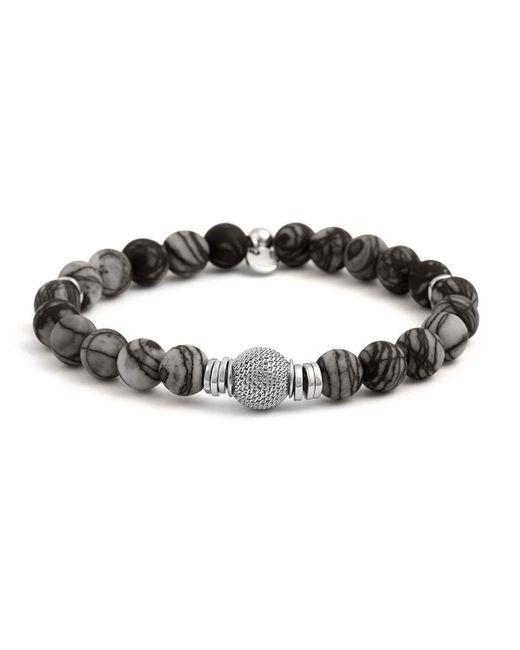 Tateossian   Black Men's Stonehenge Bead Bracelet for Men   Lyst