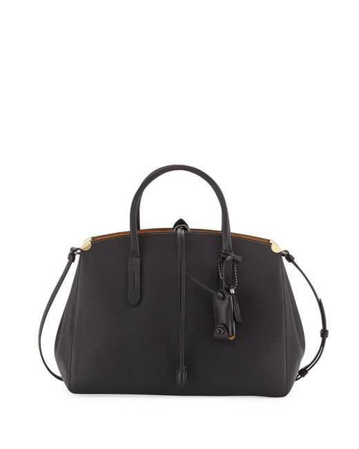 COACH | Black Cooper Glove-tanned Carryall Tote Bag | Lyst