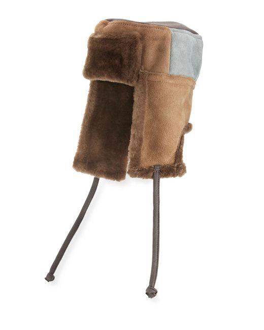 Paul Smith - Gray Men's Sheepskin Chapka Hat for Men - Lyst