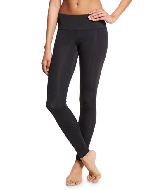 Cover - Black Upf 50 Full-length Swim Leggings - Lyst