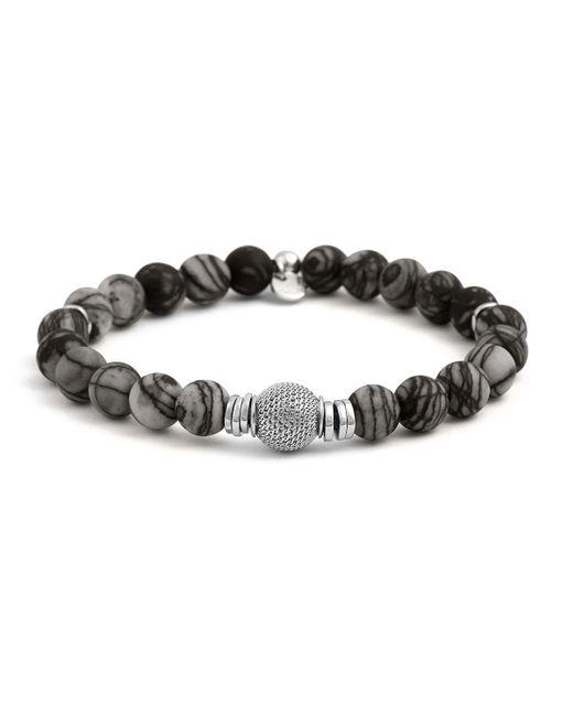 Tateossian | Black Men's Stonehenge Bead Bracelet for Men | Lyst