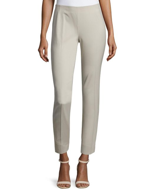 Lafayette 148 New York - Multicolor Stanton Straight-leg Ankle Pants - Lyst