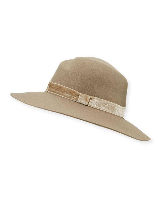 Rag & Bone - Multicolor Zoe Wool Fedora Hat - Lyst