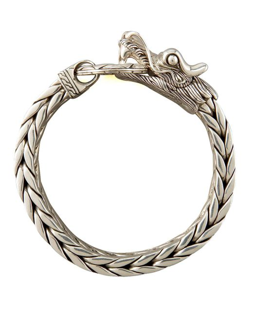 John Hardy - Metallic Naga Dragon Bracelet for Men - Lyst