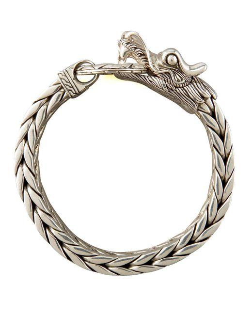 John Hardy - Metallic Naga Dragon Bracelet for Men - Lyst